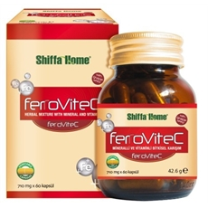 Shiffa Home Ferovitec 60 Kapsül X 710 Mg.